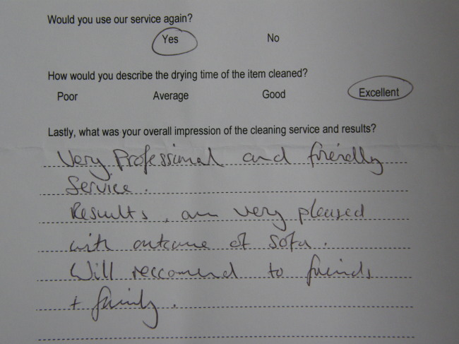 Mr Saville testimonial Chelmsford