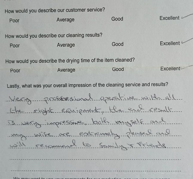 Mr Murphy testimonial Chelmsford