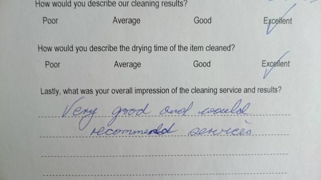Mrs Day testimonial Chelmsford